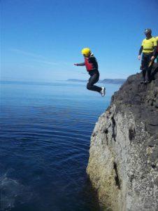 Tenby Coasteering